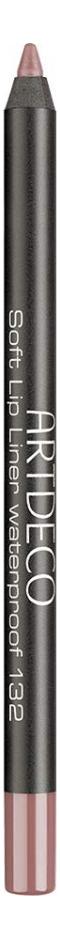 Карандаш для губ водостойкий Soft Lip Liner Waterproof 1,2г: 132 Pure Truffle недорого