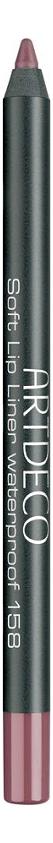 Карандаш для губ водостойкий Soft Lip Liner Waterproof 1,2г: 158 Magic Mauve недорого