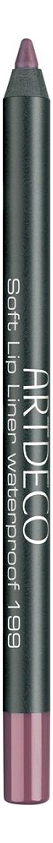 карандаш для губ водостойкий soft lip liner waterproof 1 2г 108 fireball Карандаш для губ водостойкий Soft Lip Liner Waterproof 1,2г: 199 Black Cherry