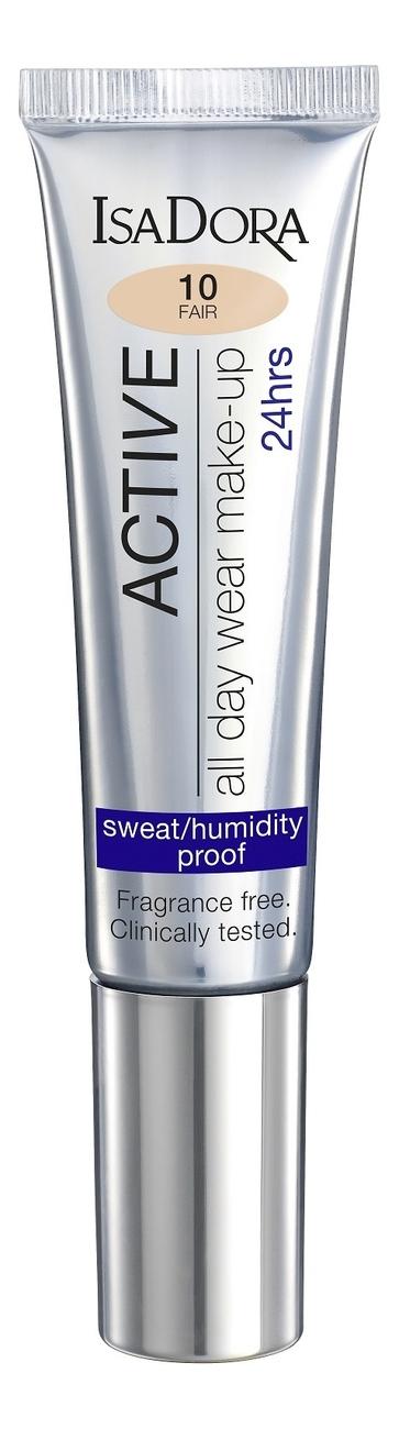 Тональный крем для лица Active All Day Wear Make-Up 24 Hrs 35мл: 10 Fair