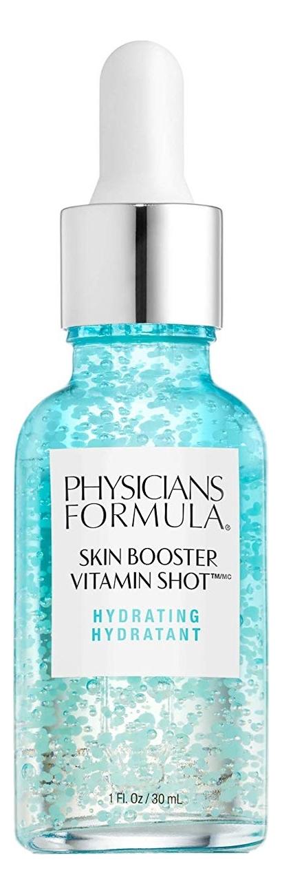 Сыворотка для лица витаминная Skin Booster Vitamin Shot Hydrating 30мл витаминная осветляющая сыворотка physician s formula skin booster vitamin shot brightening 30 мл