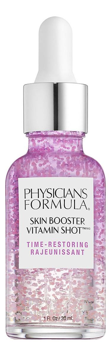 Фото - Сыворотка для лица втаминная Skin Booster Vitamin Shot Time-Restoring 30мл увлажняющий крем для лица skin hydrating booster 30мл