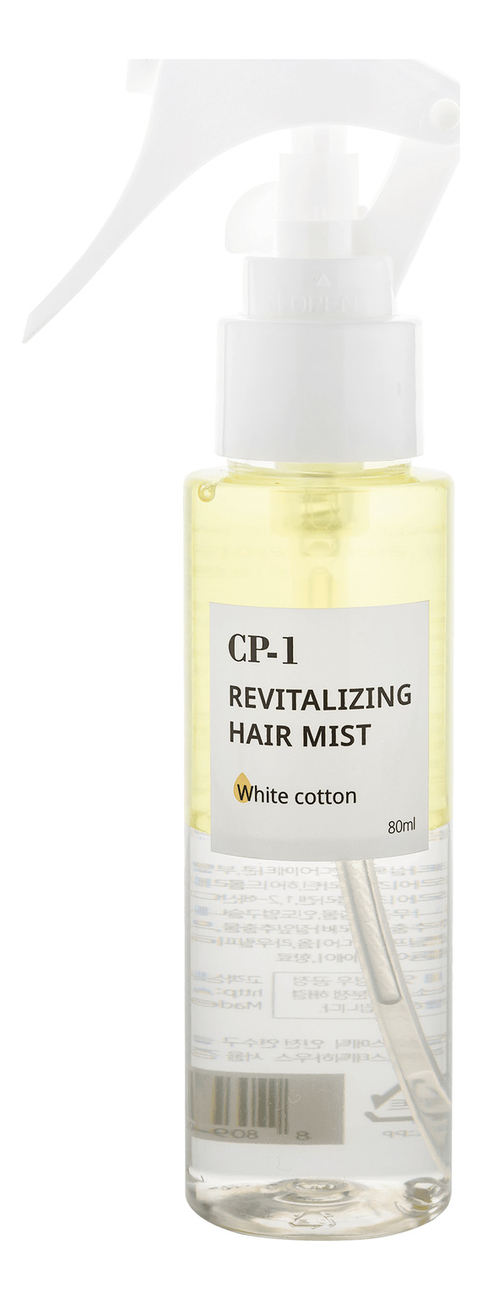 Мист для волос CP-1 Revitalizing Hair Mist White Cotton 80мл