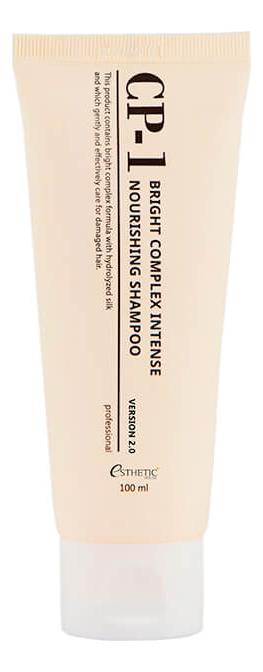 Протеиновый шампунь для волос CP-1 Bright Complex Intense Nourishing Shampoo Version 2.0: Шампунь 100мл esthetic house шампунь протеиновый cp 1 bright complex intense nourishing version 2 0 100 мл
