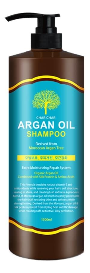 Купить Шампунь для волос с аргановым маслом Char Char Argan Oil Shampoo: Шампунь 1500мл, Evas Cosmetics