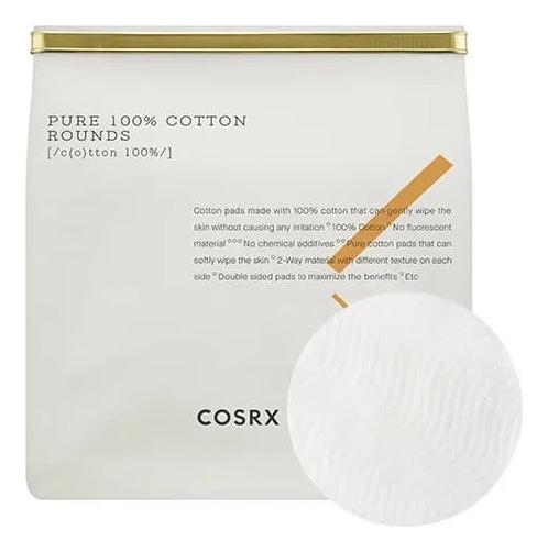 Хлопковые очищающие пэды для лица Pure 100% Cotton Rounds 80шт