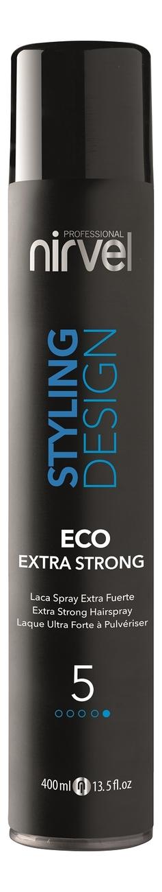 Купить Лак для волос Styling Desing Eco Extra Strong 400мл, Nirvel Professional