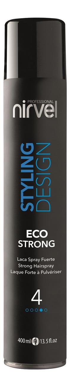 Купить Лак для волос Styling Desing Eco Strong 400мл, Nirvel Professional