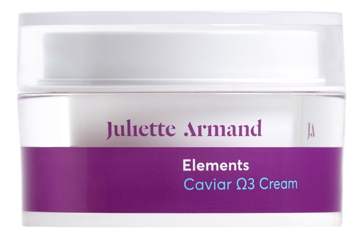 Купить Крем для лица на основе икры с Омега-3 и Омега-6 Elements Caviar Cream 50мл, Juliette Armand