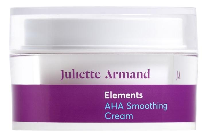 Разглаживающий крем для лица с АНА кислотами Elements AHA Smoothing Cream 50мл пилинг с ана кислотами