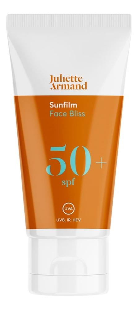 Купить Солнцезащитный крем для лица Sunfilm Face Bliss SPF50+ 55мл, Juliette Armand