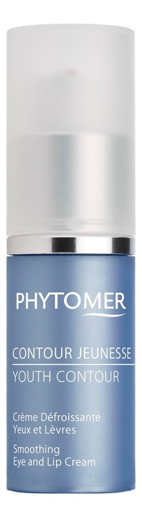Купить Восстанавливающий крем от морщин для губ и области вокруг глаз Contour Jeunesse Creme Defroissante Yeux et Levres 15мл, PHYTOMER