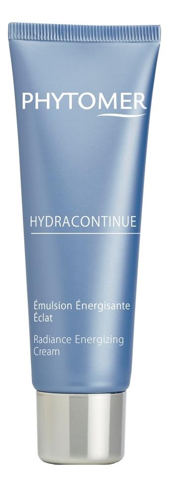Купить Увлажняющий крем для лица придающий сияние коже Hydracontinue Emulsion Energisante Eclat 50мл, PHYTOMER