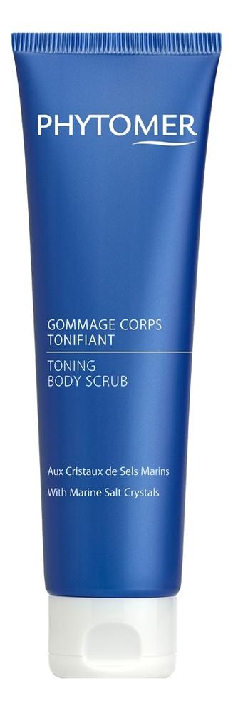 Купить Скраб для тела с морской солью Gommage Corps Tonifiant Aux Cristaux De Sels Marins 150мл, PHYTOMER