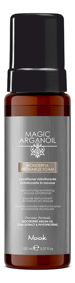 Купить Реструктурирующая и ревитализирующая пенка-мусс для волос Wonderful Recharge Foam 150мл, Nook
