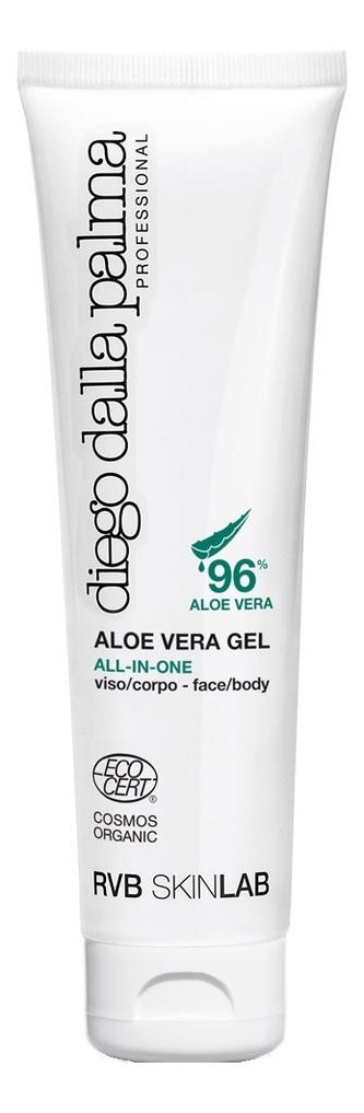 Купить Гель для лица и тела с экстрактом алоэ вера 96% Aloe Vera Gel 150мл, Diego dalla Palma