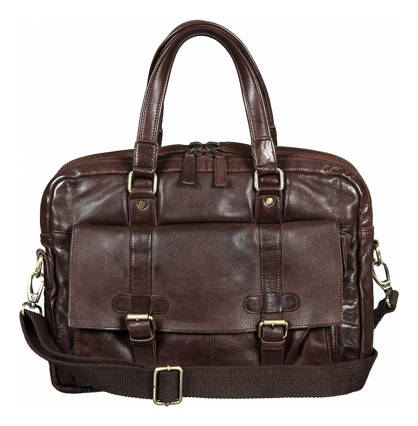 Купить Бизнес сумка Brown 4001381, Sergio Belotti