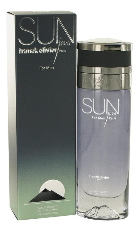 Купить Franck Olivier Sun Java for Men: туалетная вода 75мл
