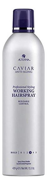Лак для волос подвижной фиксации Caviar Anti-Aging Professional Styling Working Hairspray 211г