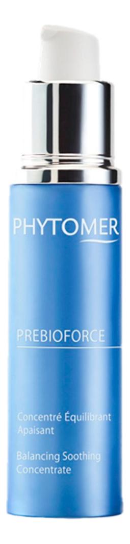 Восстанавливающий концентрат для лица с пребиотиком Prebioforce Concentre Equilibrant Apaisant 30мл концентрат для похудения concentre minceur 75мл