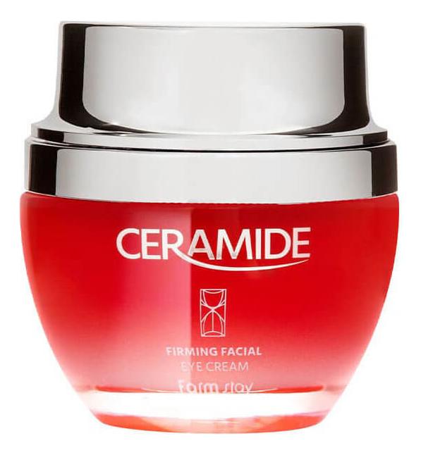 Укрепляющий крем для кожи вокруг глаз с керамидами Ceramide Firming Facial Eye Cream 50мл