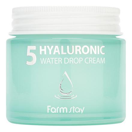 Интенсивный крем для лица с гиалуроновой кислотой Hyaluronic 5 Water Drop Cream 80мл недорого