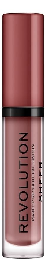 Купить Блеск для губ Sheer Brillant 3мл: 112 Ballerina, Makeup Revolution