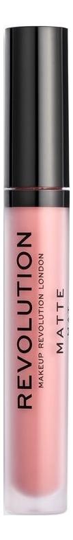 Купить Жидкая губная матовая помада для губ Matte 3мл: 112 Ballerina, Makeup Revolution