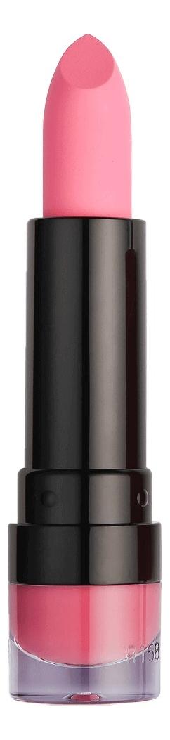 Матовая помада для губ Matte Lipstick: 137 Cupcake nyx professional makeup замшевая помада для губ suede matte lipstick munchies