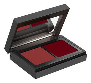 Палетка помад для губ Lip Duo Palette: 10 Brun Rose Et Rouge Bordeaux