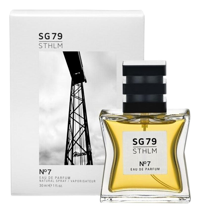 цена на SG79|STHLM No7: парфюмерная вода 30мл