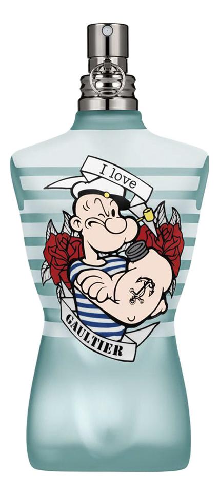 Jean Paul Gaultier Le Male Popeye Eau Fraiche: туалетная вода 125мл тестер