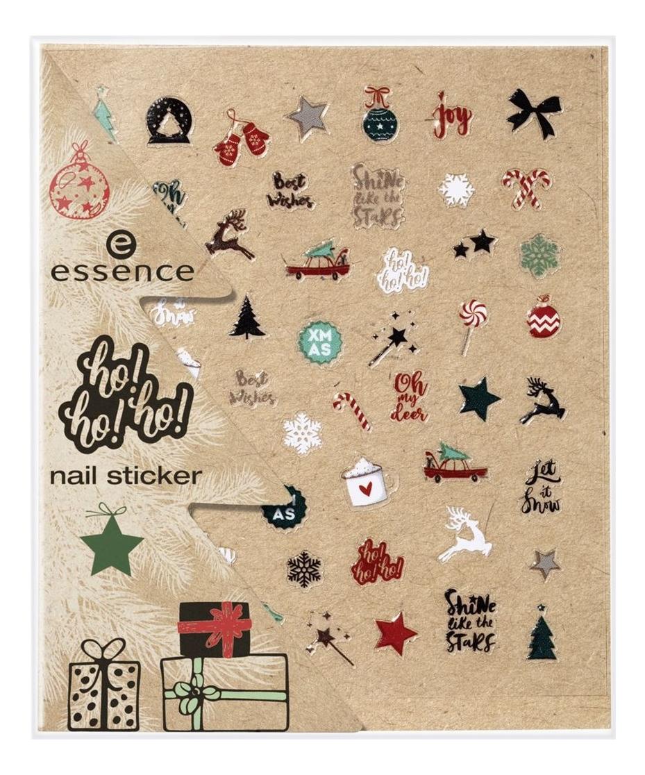 Наклейки для ногтей ho!ho!ho! Nail Stickers No01 Dear Santa
