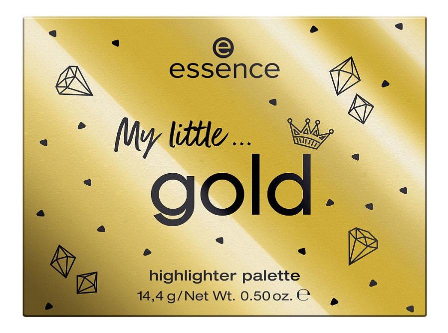 Фото - Палетка хайлайтеров для лица Royal Party My Little Gold Highlighter Palette 14,4г палетка хайлайтеров для лица reloaded lustre 5г lights cool