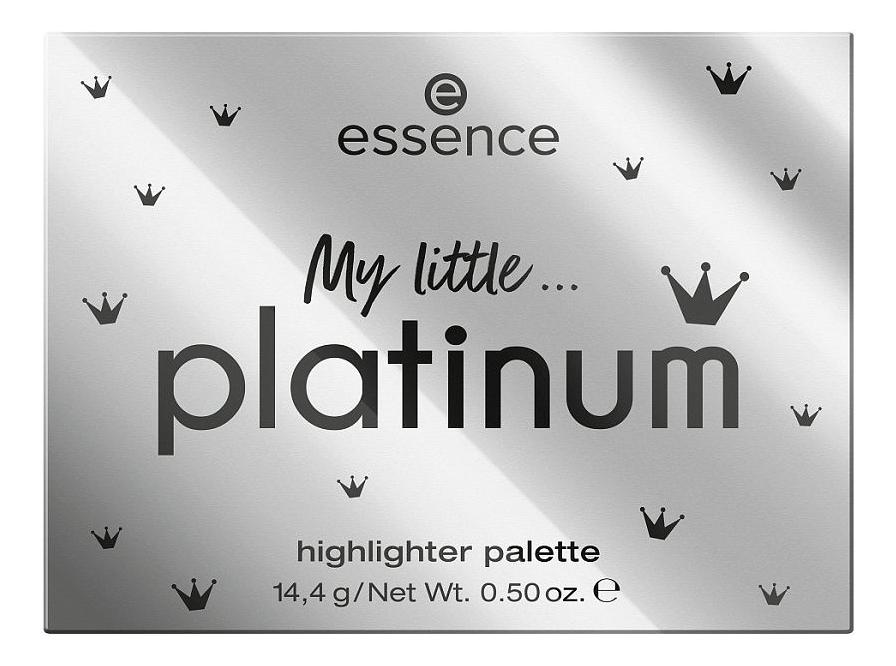 Палетка хайлайтеров для лица Royal Party My Little Platinum Highlighter Palette 14,4г