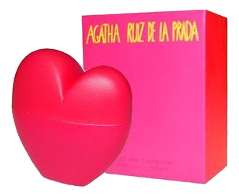 Agatha Ruiz De La Prada Corazon: туалетная вода 100мл (старый дизайн)