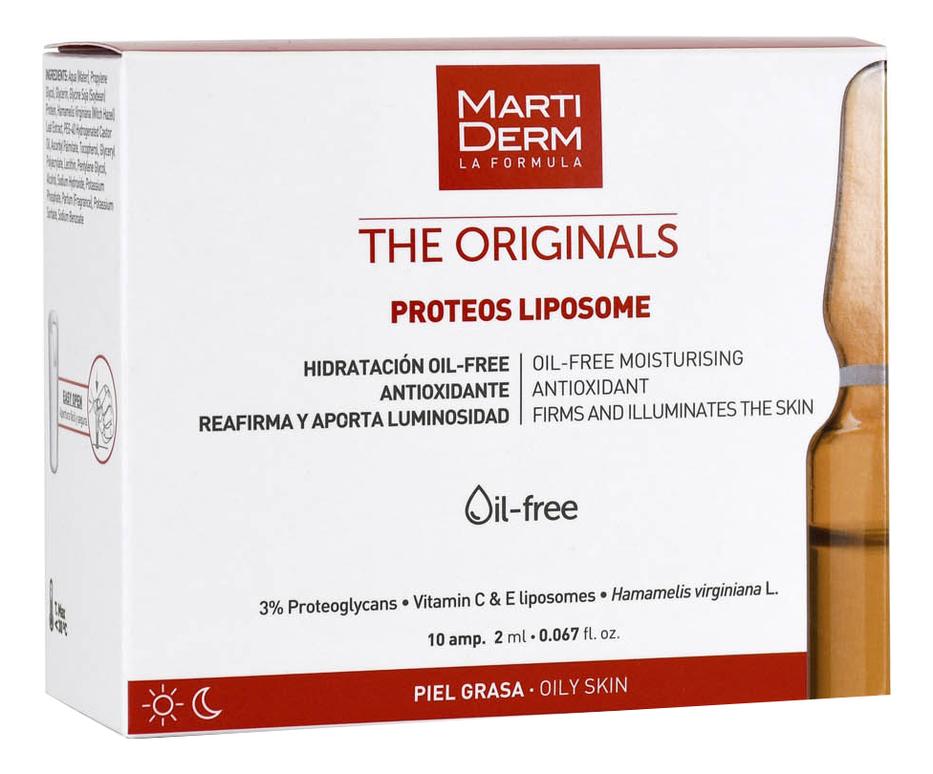 MartiDerm ампульная сыворотка для лица the originals proteos liposome в Москве — купить сыворотку, концентрат для кожи лица по выгодной цене в интернет-магазине, смотреть фото и отзывы на Randewoo.ru