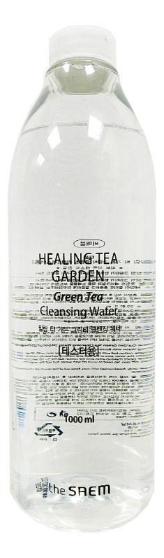 Очищающая вода с экстрактом зеленого чая Healing Tea Garden Green Tea Cleansing Water: Вода 1000мл очищающая вода урьяж