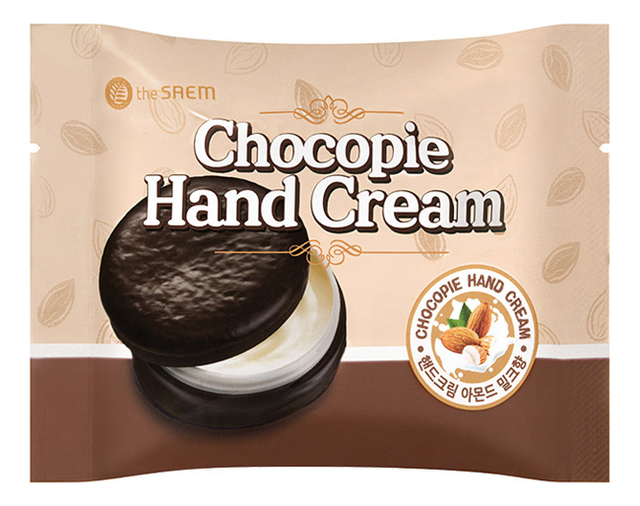 Крем для рук Chocopie Hand Cream Almond Milk 35мл