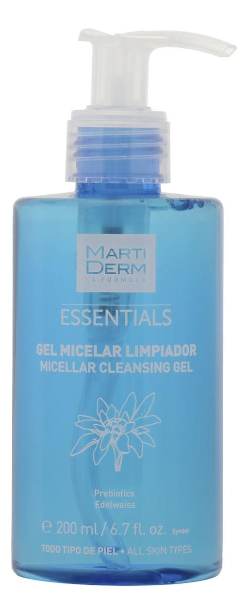 Мицеллярный очищающий гель для лица Essentials Micelar Cleansing Gel 200мл недорого