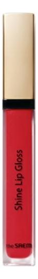 Блеск для губ Eco Soul Shine Lip Gloss 3,4г: CR01 Coral Nectar блеск для губ eco soul shine lip gloss 3 4г cr01 coral nectar