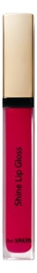 Блеск для губ Eco Soul Shine Lip Gloss 3,4г: RD01 Red Bible блеск для губ eco soul shine lip gloss 3 4г cr01 coral nectar