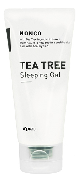 Ночной гель с маслом чайного дерева для проблемной кожи NonCo Tea Tree Sleeping Gel 80мл