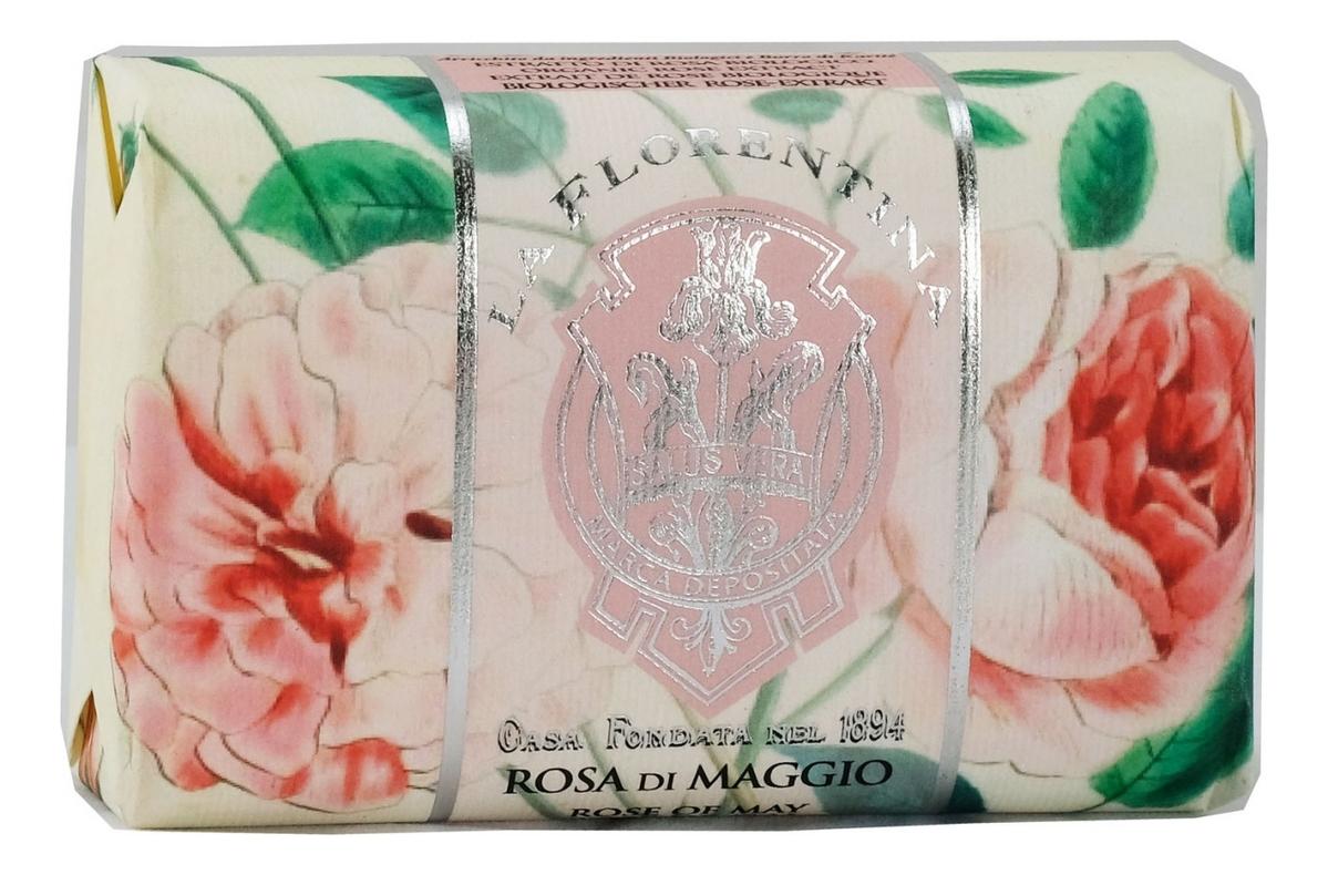 Купить Мыло Rosa Di Maggio Saponetta: Мыло 200г, La Florentina