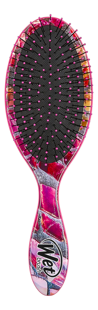 Щетка для спутанных волос Detangler Magic Garden Pink Slate