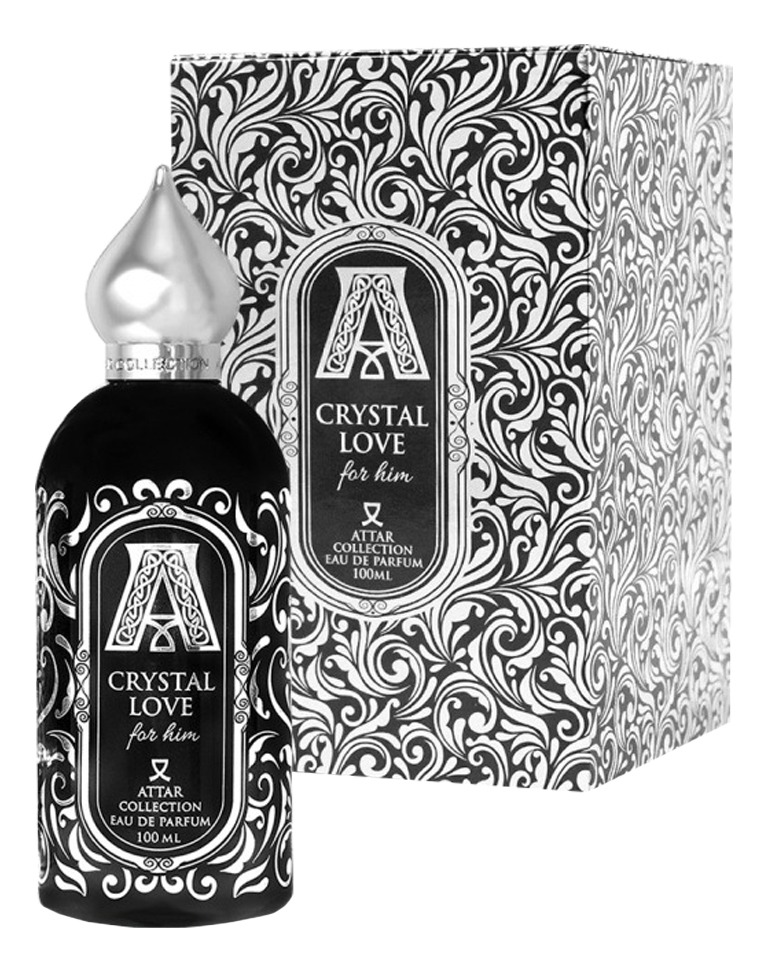 Attar Collection Crystal Love For Him: парфюмерная вода 100мл