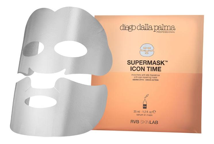 Антивозрастная тканевая маска для лица Supermask Icon Time Anti-Age Repairing Mask 35мл антивозрастная тканевая маска для лица rose gold mask anti aging 23г
