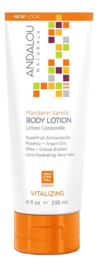 Купить Регенерирующий лосьон для тела Mandarin Vanilla Vitalizing Body Lotion 236мл (ваниль и мандарин), Andalou Naturals