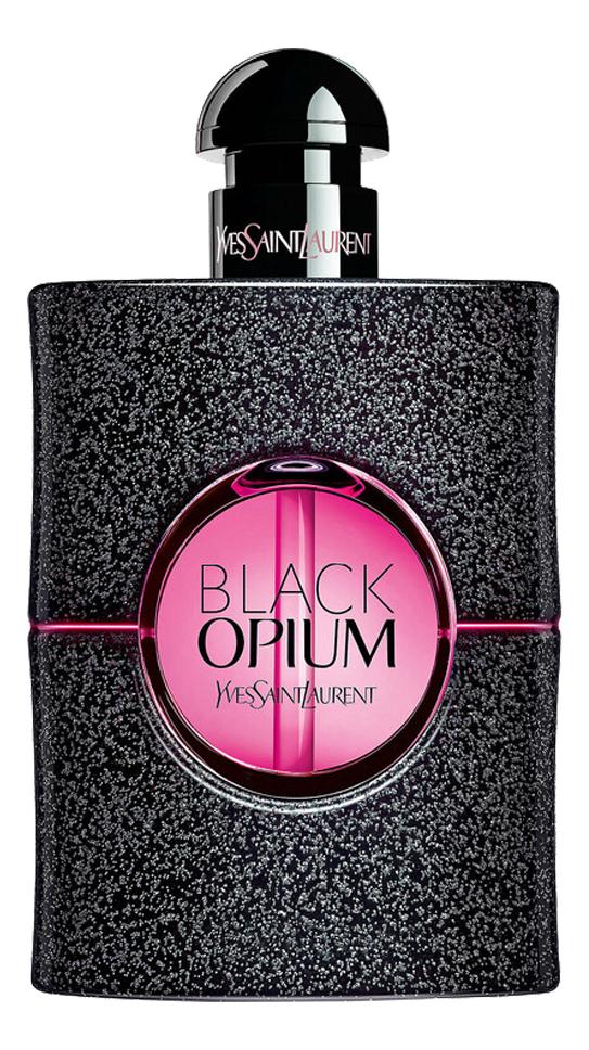 YSL Black Opium Eau De Parfum Neon: парфюмерная вода 75мл тестер ysl black opium collector edition 2018 парфюмерная вода 50мл тестер