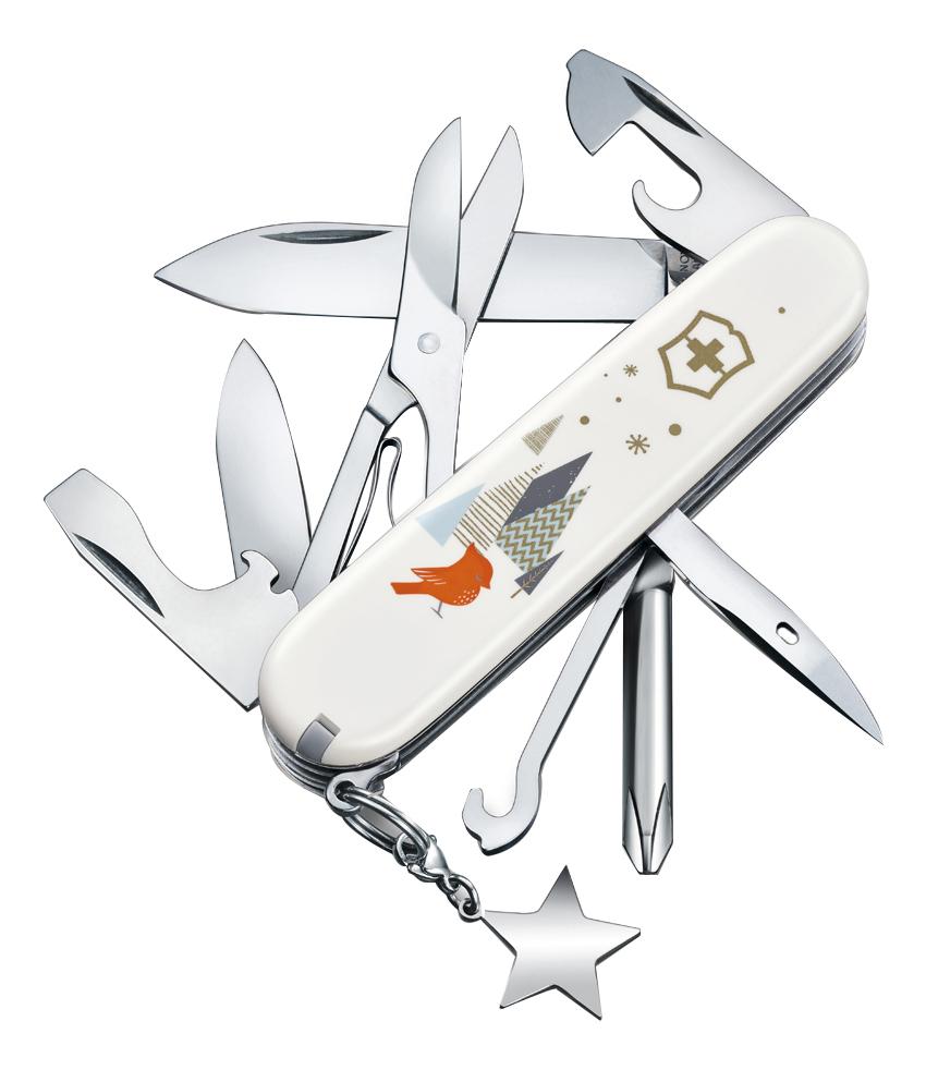 цена на Нож перочинный Super Tinker Winter Magic SE 2019 91мм 15 функций 1.4703.7E1